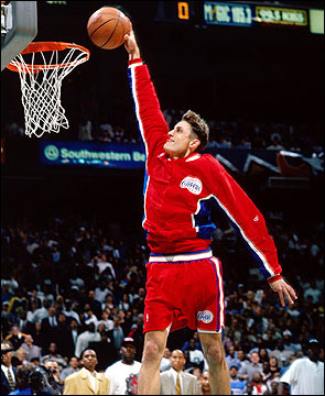 Brent Barry Dunk Conte...
